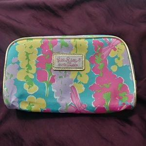 Lilly Pulitzer for Estee Lauder Accessories Case